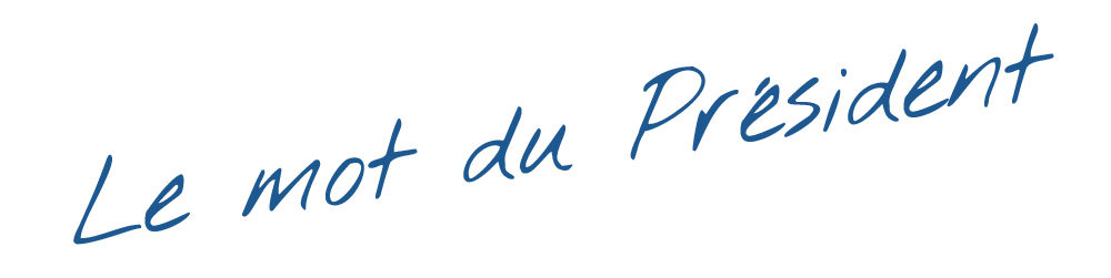 Mot du président - Accueil